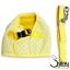 สายจูงสุนัข เสื้อกั๊ก ลายจุดสีเหลือง thumbnail 3