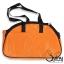 กระเป๋าใส่สุนัข ลายกระดูก สีส้ม thumbnail 3