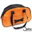 กระเป๋าใส่สุนัข ลายกระดูก สีส้ม thumbnail 1