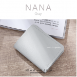กระเป๋าสตางค์ผู้หญิง รุ่น NANA สีเทา