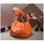 กระเป๋าหนังแท้ ทรง Hermes lindy26