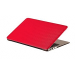 "Carbon Hard Case For Macbook Air 11"" Red"