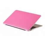 "Carbon Hard Case For MacBook Air 11"" Pink"
