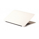 "Carbon Hard Case For Macbook Air 11"" White"