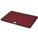 """Chic Hard Case For MacBook Air 11"""" Red Checkers"""