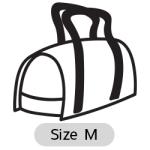 กระเป๋าใส่สุนัข DODOPET สีฟ้า Size M