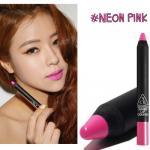 ++Pre order++ 3 CONCEPT Jumbo Crayon #Neon Pink