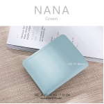 กระเป๋าสตางค์ผู้หญิง รุ่น NANA สีเขียว