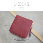 กระเป๋าสตางค์ผู้หญิง LIZE-S สีแดง
