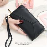 กระเป๋าสตางค์ผู้หญิง LIZE-L สีดำ