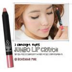 ++Pre order++ 3 CONCEPT Jumbo Crayon #Bohemian Pink