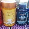 มะเขือเทศสกัดเย็น 1 ปุก 150 เม็ด + super L-Glutathione 1 ปุก 150 เม็ด + ALA 300 mg.วิตามินเร่งขาว 120 เม็ด