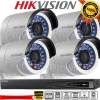 Hikvision (( Camera Set 4 )) HD1080P (DS-2CD2022WD-I x 4, DS-7604NI-E1/4P x 1)
