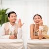 นุ่น - ท็อป คู่รักสุดเก๋งานแต่งธีมรักษ์โลก
