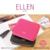 กระเป๋าสตางค์ผู้หญิง ELLEN สีชมพูบานเย็น Pink