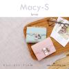 กระเป๋าสตางค์ผู้หญิง ใบสั้น รุ่น MACY-S สีเขียวมิ้นท์