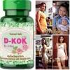 สบายพุง D-KOK by.อ.เบียร์ สมุนไพรช่วยลดน้ำหนัก ขนาด 30 เม็ด