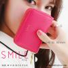 กระเป๋าใส่บัตร เอนกประสงค์ รุ่น SMILE สีชมพูบานเย็น