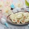 พร้อมส่ง ** White Chocolate Almond ไวท์ช็อคโกแลตชั้นดีผลิตจากนมฮอกไกโดสอดไส้อัลมอนต์เต็มๆ เม็ด หวานกลมกล่อม หอม อร่อย ของแท้ส่งตรงจากญี่ปุ่นค่ะ