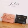 กระเป๋าสตางค์ผู้หญิง JULIUS สีส้ม