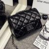 กระเป๋าหนังแกะ mini black 14x19x7cm
