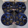 TE37 18x9+0 6-139.7 สีน้ำเงิน