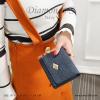 กระเป๋าสตางค์ผู้หญิง ใบสั้น รุ่น DIAMONDS-S สีน้ำเงิน