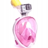 Easy Breath snorkeling mask - Size L/XL - [ ชมพู ]
