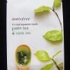 ++พร้อมส่ง++Innisfree It's real squeeze mask - Green tea 20ml