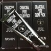++พร้อมส่ง++Nasnon Charcoal Pore Clear Pack 60ml ครีมมาส์กลอกสิวเสี้ยน สิ่งอุดตัน