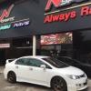 Honda Civic FD + TE37 17x8+38 5-114.3