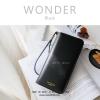 กระเป๋าสตางค์ผู้หญิง รุ่น WONDER สีดำ