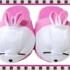 รองเท้าใส่ในบ้านOffice Mashimaro สีชมพู ขนาดความยาวรองเท้า 10นิ้ว ขนาด free size ส่งฟรี ems