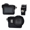Aluminium Frame Housing Case With Back Cover + 52mm UV filter and Lens Cap For Gopro Hero 5 - Black