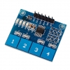 TTP224 4 way Capacitive Touch Switch Module Digital Sensor For Arduino UF