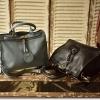 กระเป๋าหนังแท้ Blueblack Rio (สีดำ)