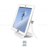 MacLocks iPad Secure Rotating Stand with Cable Lock - White - iPad2/3/4