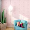 wallpaper ติดผนัง สีชมพู สไตล์โมเดิร์น วินเทจ