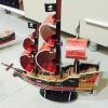 Pirate Ship เรือใบ 3D Puzzle Model โมเดล 3 มิติ