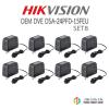ชุด HIKVISION OEM DVE DSA-24PFD-15FEUx 8 ตัว