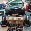 Honda Jazz + Rayswheel 57Transcend