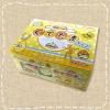 พร้อมส่ง ** Gudetama Chocolate ช็อคจิ๋วรูปไข่ขี้เกียจกุเดทามะ กล่องใหญ่ 80 ชิ้น (ช็อคโกแลตทนร้อนได้ ไม่ละลาย)