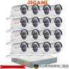 JIGAMI (( Camera+DVR Set 16 )) B16C0TIRP x 16 7116HGHI-E1 x1