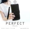 กระเป๋าสตางค์ผู้หญิง รุ่น PERFECT สีดำใบยาว