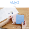 กระเป๋าสตางค์ผู้หญิง แบบบาง รุ่น AMAZ Slim สีฟ้า