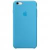 iPhone 6Plus,6SPlus Silicone Case -Blue , เคสซิลิโคน iPhone 6Plus,6SPlus - สีฟ้า
