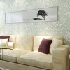 wallpaper ติดผนัง ลายหลุยส์ 3 มิติ
