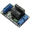 2 Channel 5V DC Relay Module Solid State Low Level OMRON SSR AVR DSP for Arduino
