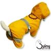 ชุดสุนัข กางเกงกันฝน สีเหลือง