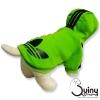 เสื้อสุนัข logo Adidog สีเขียว